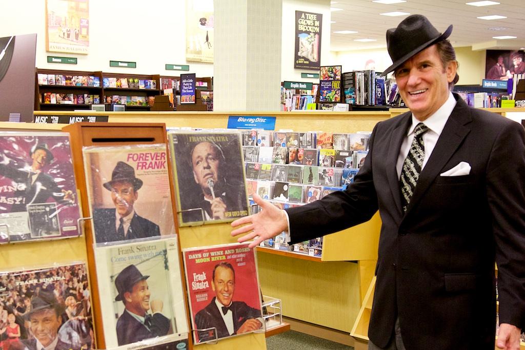 Tony Viviano with Sinatra Records image